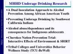 mhhd underage drinking research1