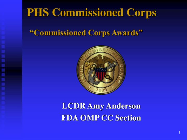phs commissioned corps commissioned corps awards n.