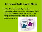 commercially prepared mixes3