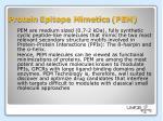 protein epitope mimetics pem
