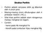 struktur porfirin