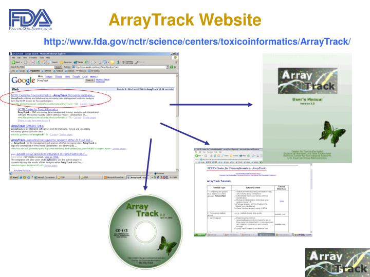 ArrayTrack Website
