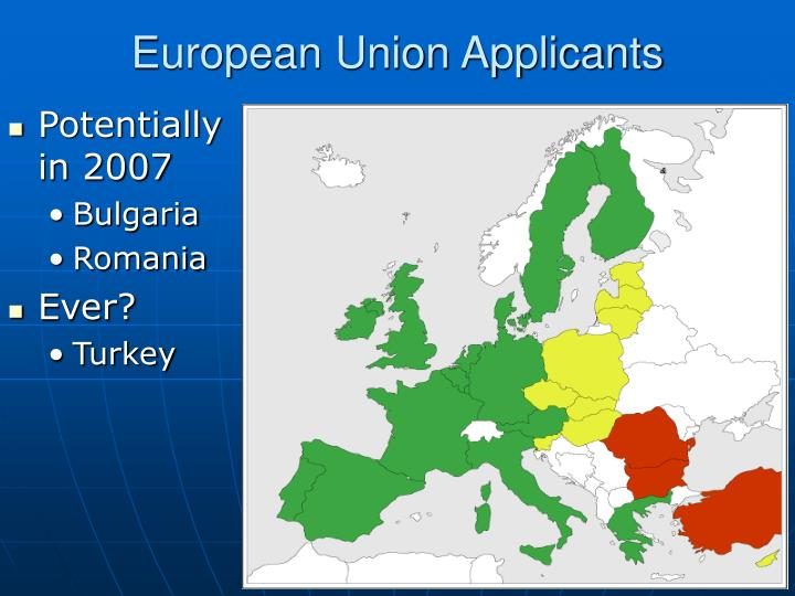 European Union Applicants