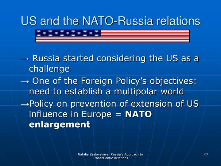 US and the NATO-Russia relations