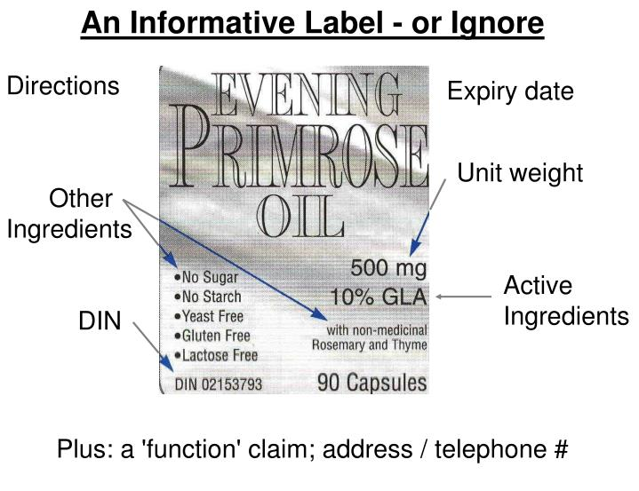 An Informative Label - or Ignore