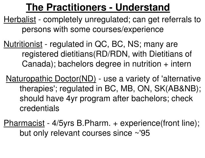 The Practitioners - Understand