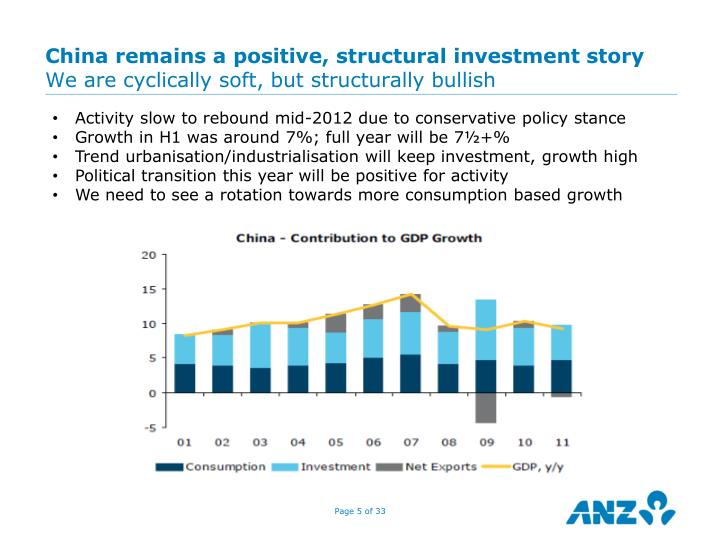 China remains a positive, structural investment story