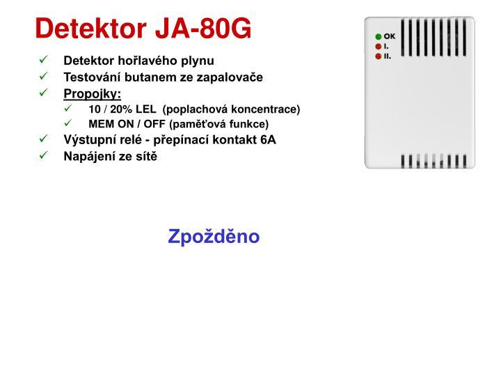 Detektor JA-80G