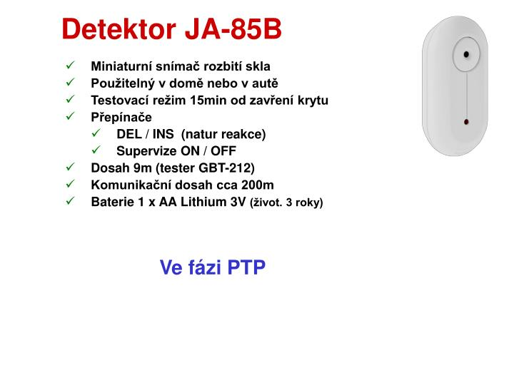 Detektor JA-85B