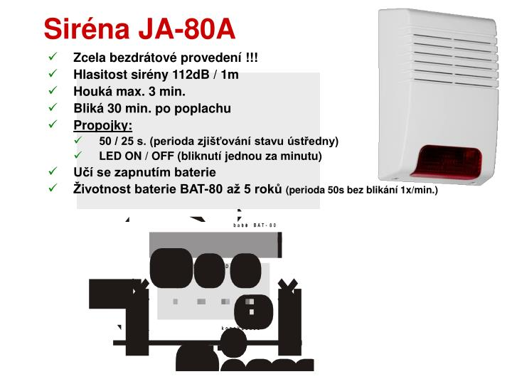 Siréna JA-80A