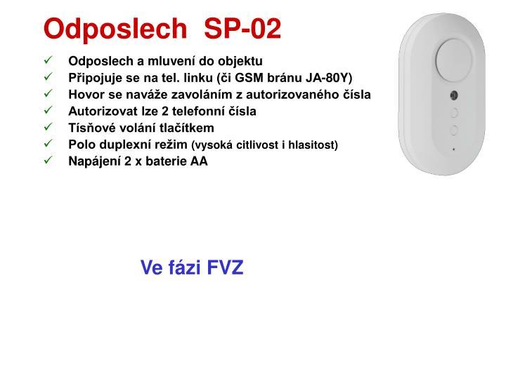 Odposlech  SP-02
