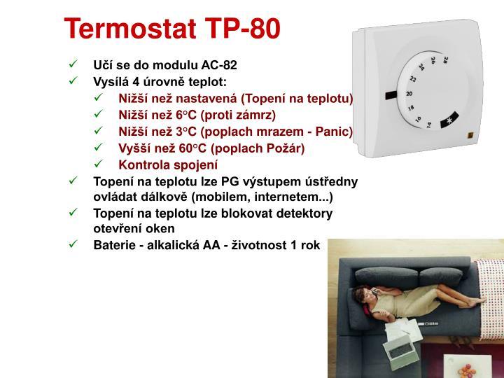 Termostat TP-80