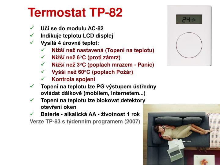 Termostat TP-82