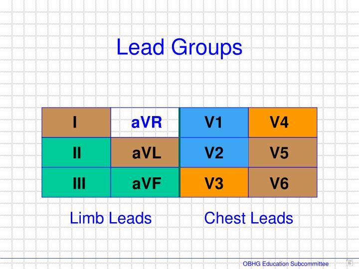 Lead Groups