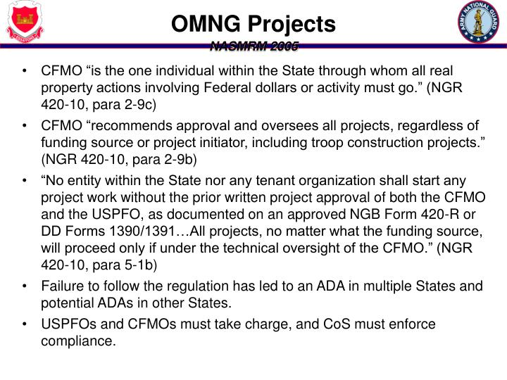 OMNG Projects