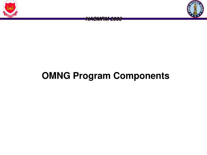 OMNG Program Components