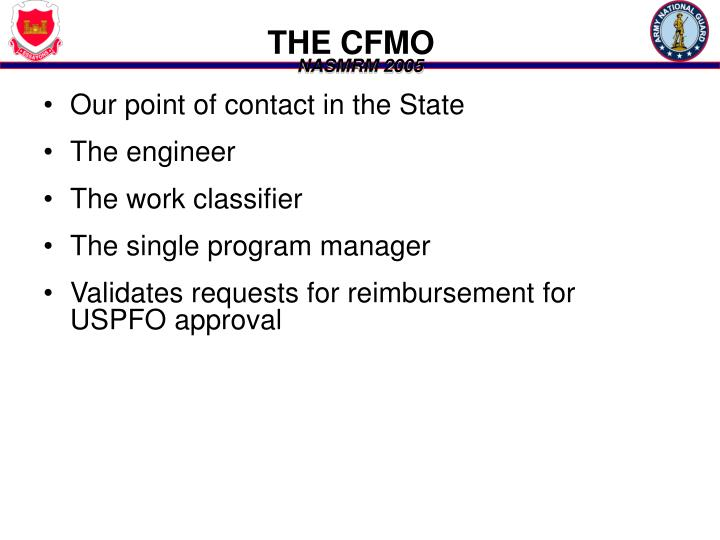 THE CFMO