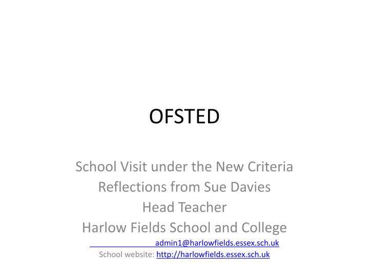 ofsted n.