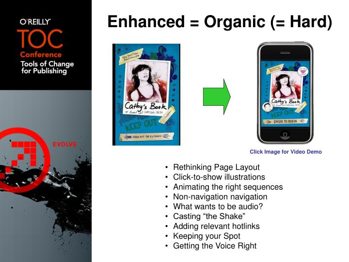 Enhanced = Organic (= Hard)
