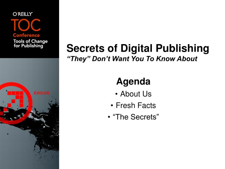 Secrets of Digital Publishing