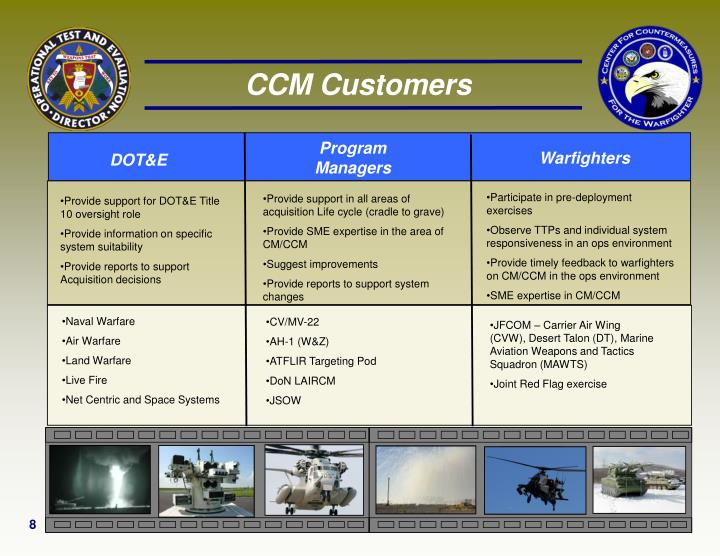 CCM Customers
