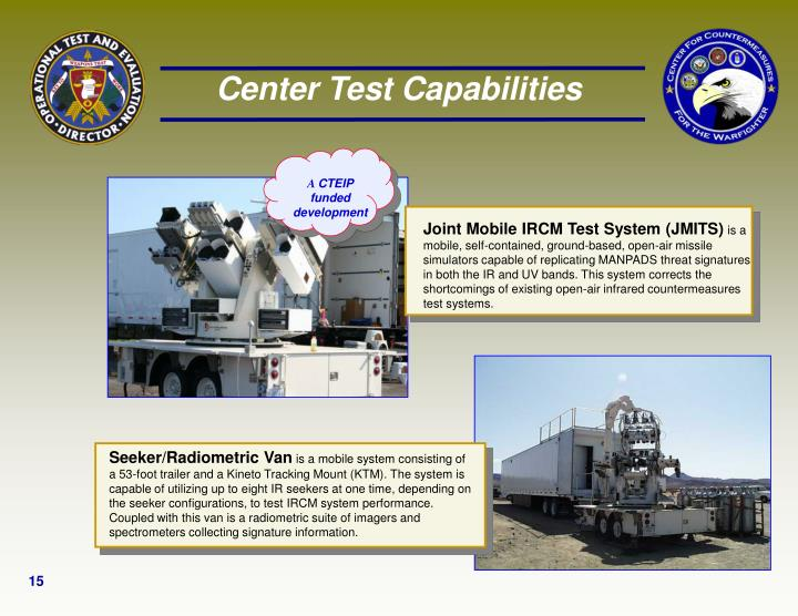 Joint Mobile IRCM Test System (JMITS)