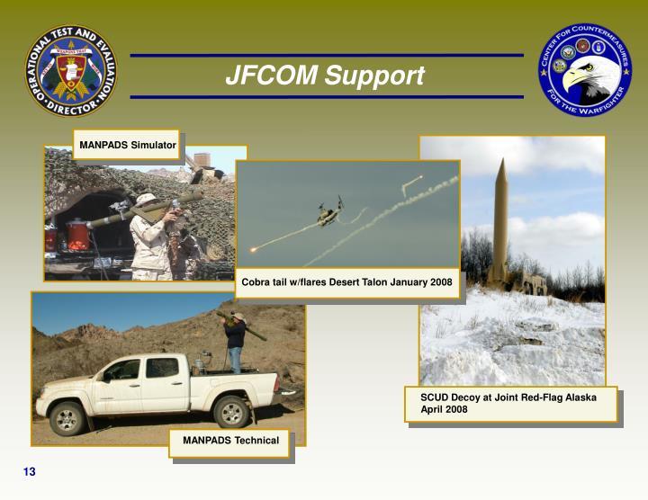 JFCOM Support