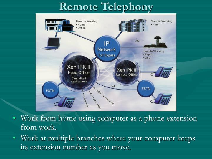 Remote Telephony