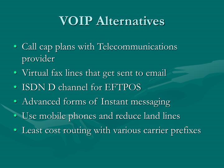 VOIP Alternatives
