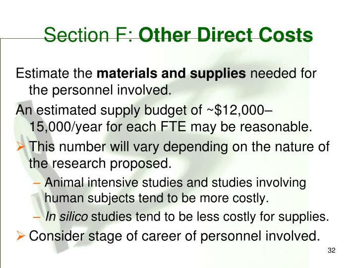 Section F: