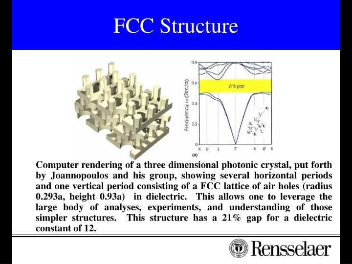 FCC Structure
