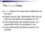 the file class1