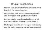 drupal conclusions