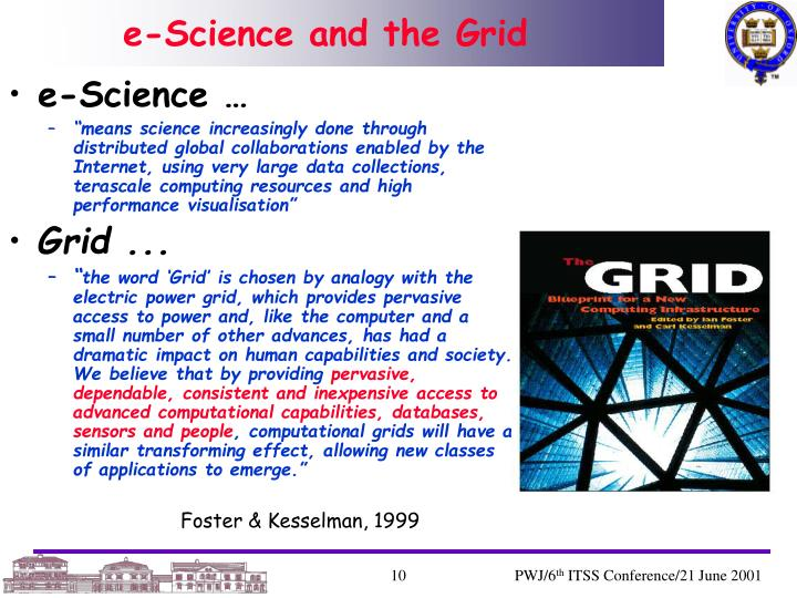 e-Science and the Grid