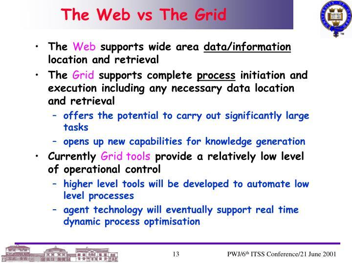 The Web vs The Grid