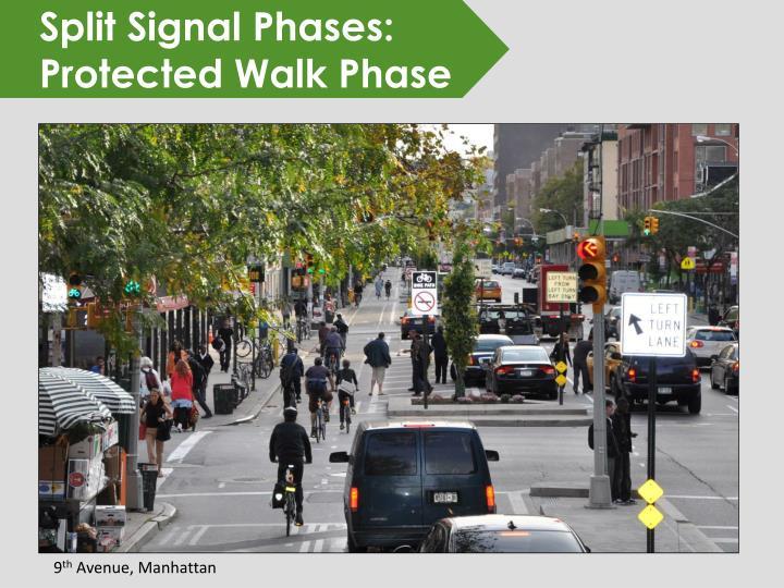 Split Signal Phases: