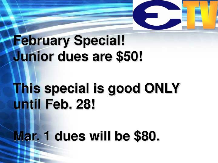 February Special!