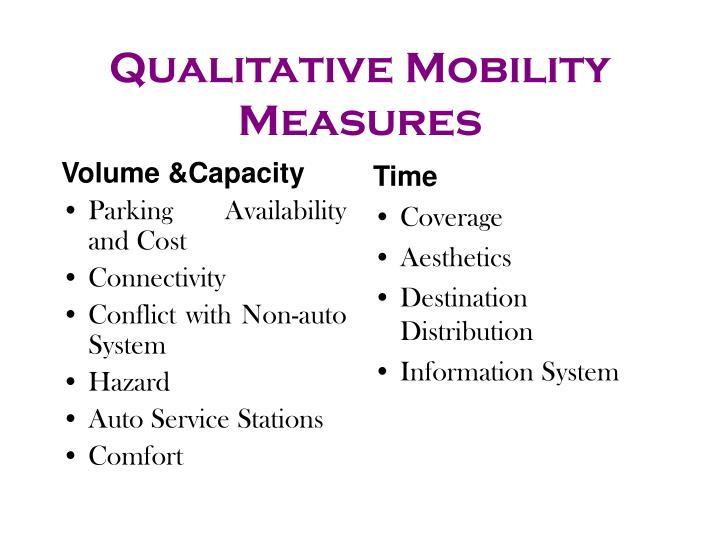 Volume &Capacity