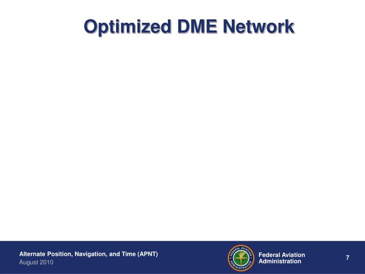 Optimized DME Network