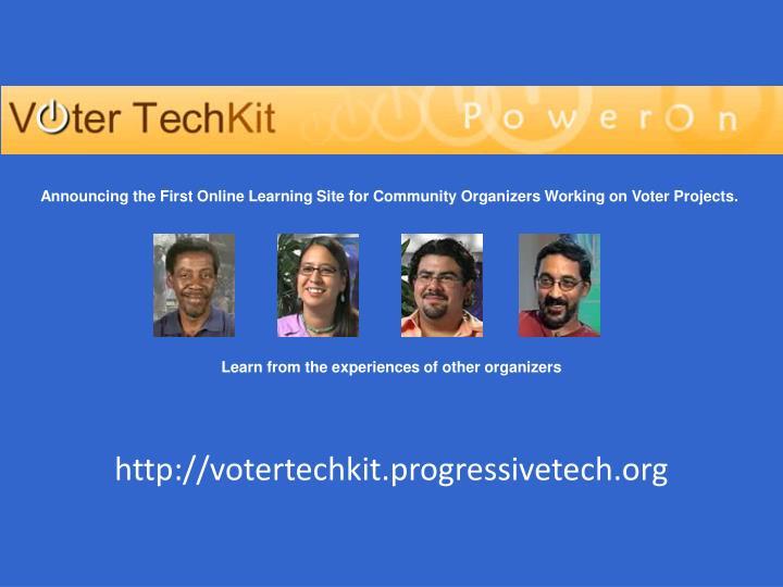 http://votertechkit.progressivetech.org
