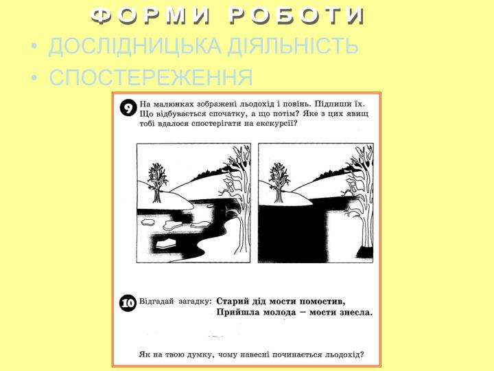 ФОРМИ РОБОТИ