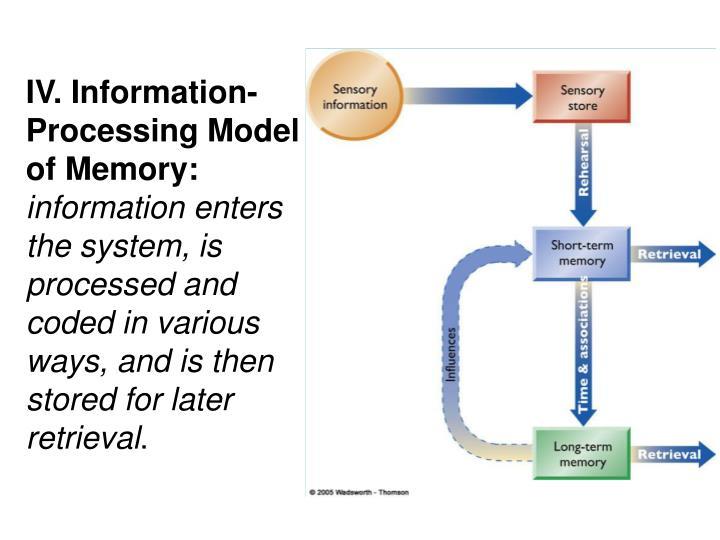 IV. Information-