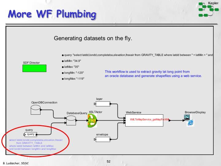More WF Plumbing