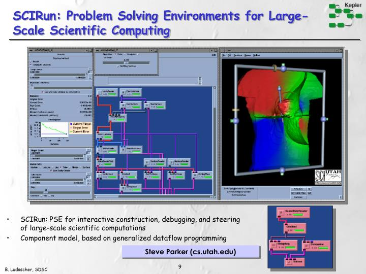 SCIRun: Problem Solving Environments for Large-Scale Scientific Computing
