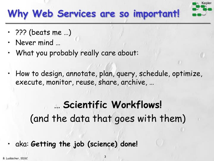 Why web services are so important