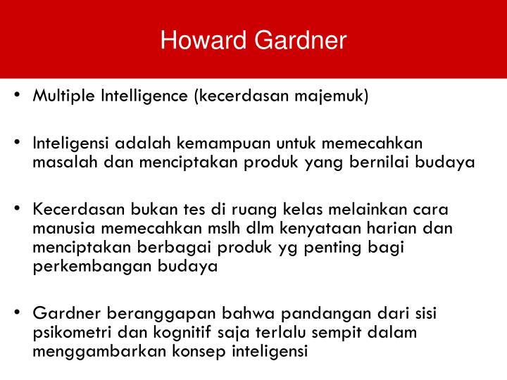 Multiple Intelligence (kecerdasan majemuk)