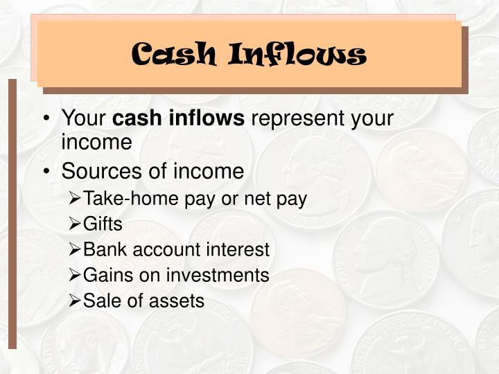 Cash Inflows