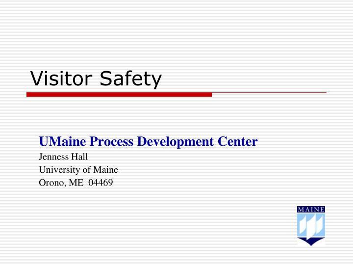 visitor safety