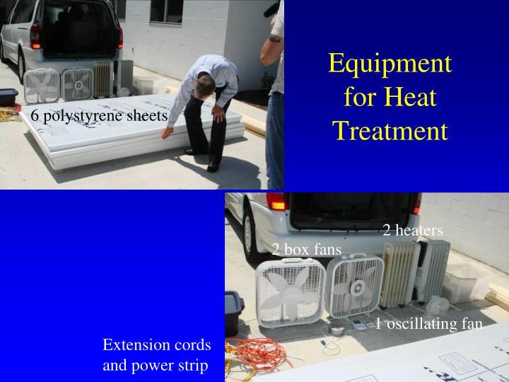 Equipment for Heat Treatment