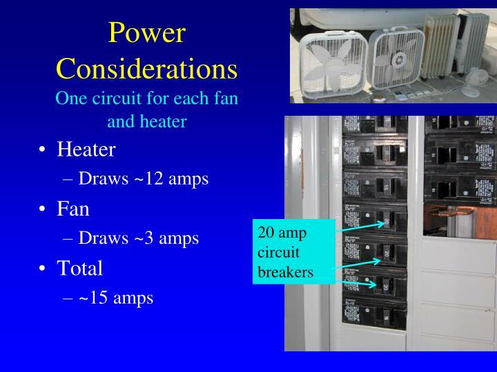 Power Considerations
